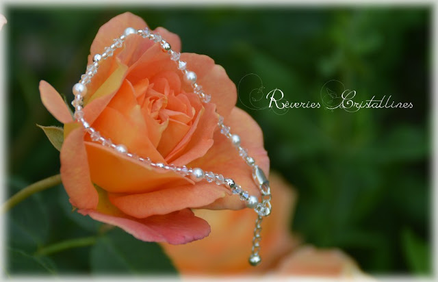 bracelet de mariée épuré