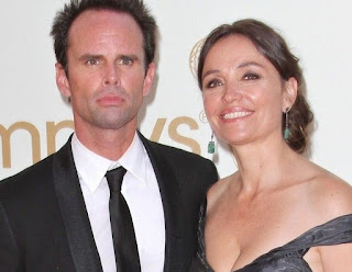 Late Leanne Goggins with her former husband Walton Goggins