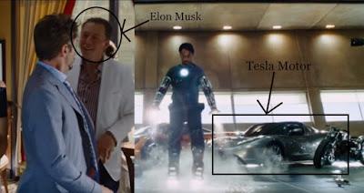 Elon Musk in Marvel Iron Man 2
