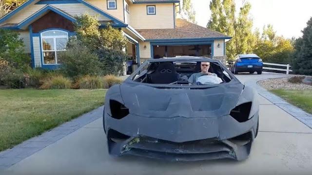 Crean Lamborghini con impresora 3D (Video)