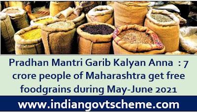 Pradhan Mantri Garib Kalyan Anna