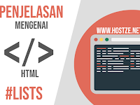 Tag - Tag Yang Membangun HTML: Lists