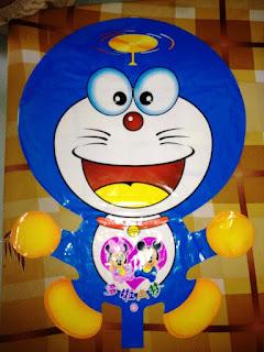 Model Balon Karakter Doraemon Yang Lucu