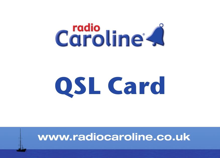 SHORTWAVE BLOG FROM BELARUS: QSL Radio Caroline