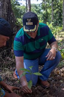 Tasikmalaya - Launcing hutan edukasi ekoliterasi turut dihadiri Walikota Tasikmalaya