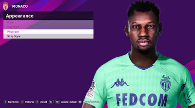PES 2020 Faces Seydou Sy by Rachmad ABs