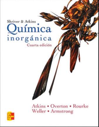 Shriver & Atkins Química inorgánica 4 Edición  en pdf