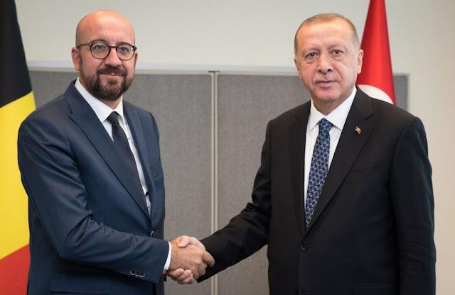 Ο Ερντογάν «κουνά το δάχτυλο» στην… Ευρώπη