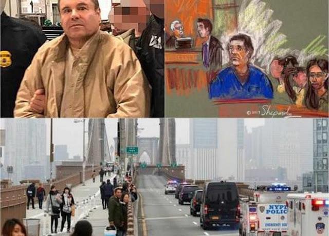 """""""El Chapo""""  Guzman pone a """"temblar"""" al Puente de Brooklyn"""