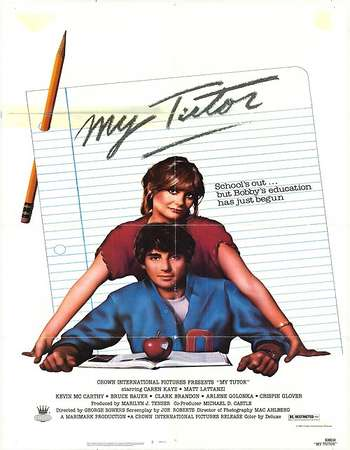 Poster Of My Tutor 1983 Dual Audio 120MB BRRip HEVC Mobile ESubs - UNRATED Free Download Watch Online Worldfree4u