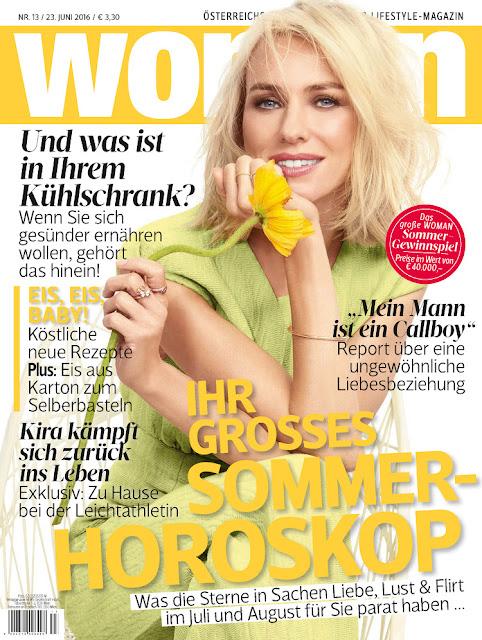Actress, @ Naomi Watts - Naomi Watts - Woman Germany, June 2016