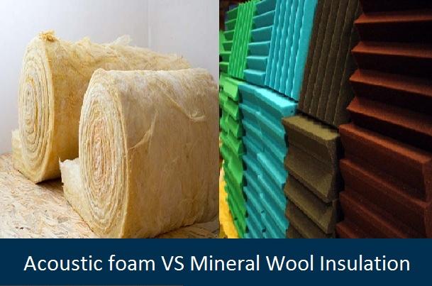 Acoustic Foam vs Mineral Wool Insulation