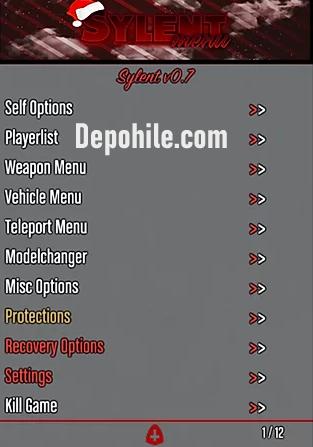 GTA5 1.50 Menu Sylent v0.7 Drop Para Hilesi İndir Bansız 2020