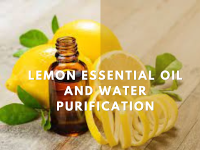 Lemon Essential Oil and Water Purification