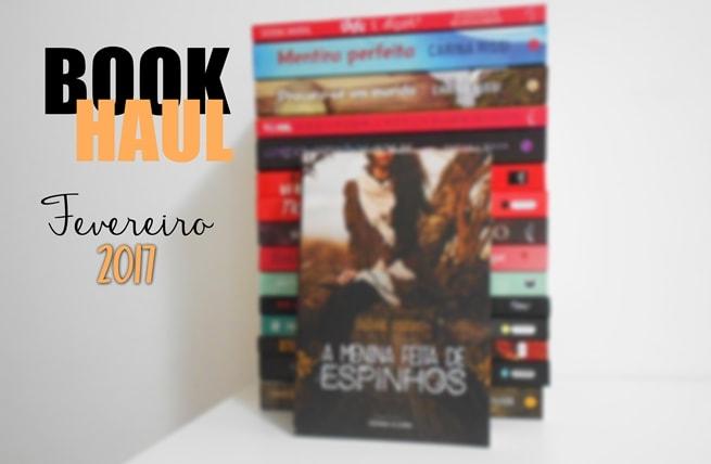 Book haul janeiro e fevereiro/2017