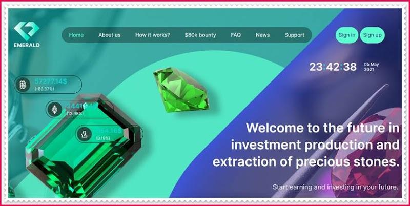 Мошеннический сайт emerald-inv.com – Отзывы, развод, платит или лохотрон? Мошенники
