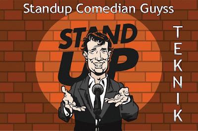 Teknik Standup Komedi