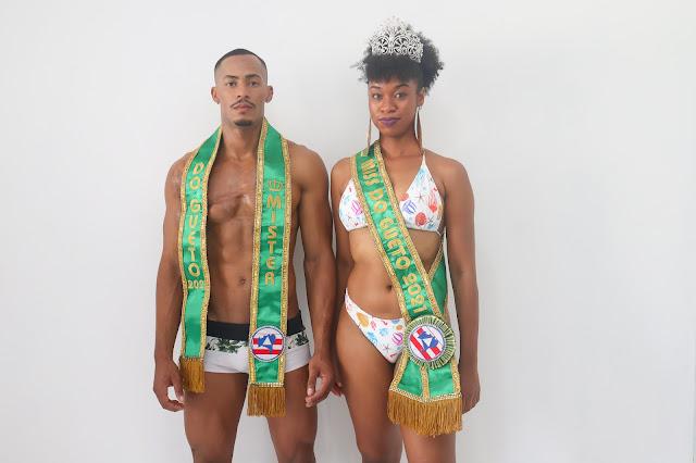 Marlon Santana e Bianca Souza (Foto: Joeverson Miranda)
