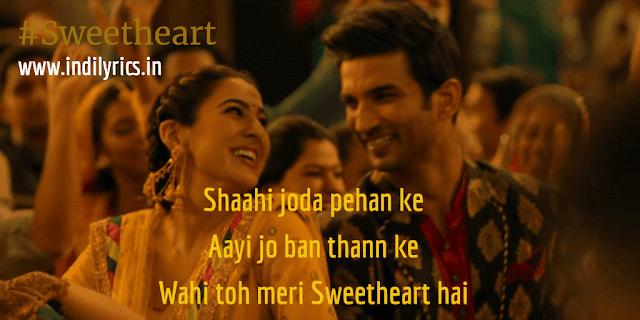 Wahi Toh Meri Sweetheart Hai | Kedarnath | Full Song Lyrics with English Translation and Real Meaning Explanation