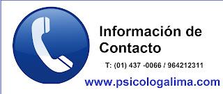 Psicólogos en Lima teléfonos