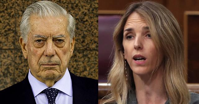 Vargas Llosa y Cayetana