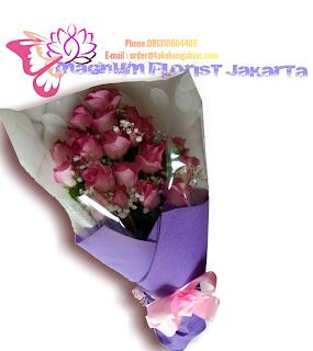 Buket-Bunga-Mawar-Pink-Magnum-Florist-Jakarta-04