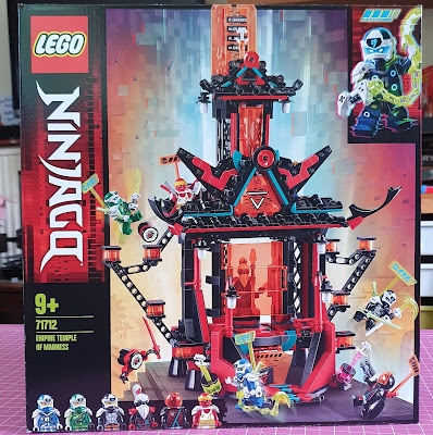 LEGO 71712 Empire Temple of Madness image of front of box showing built product