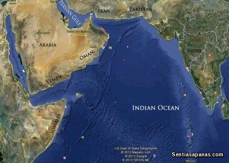 Persian Ocean and Indian Ocean Mystery