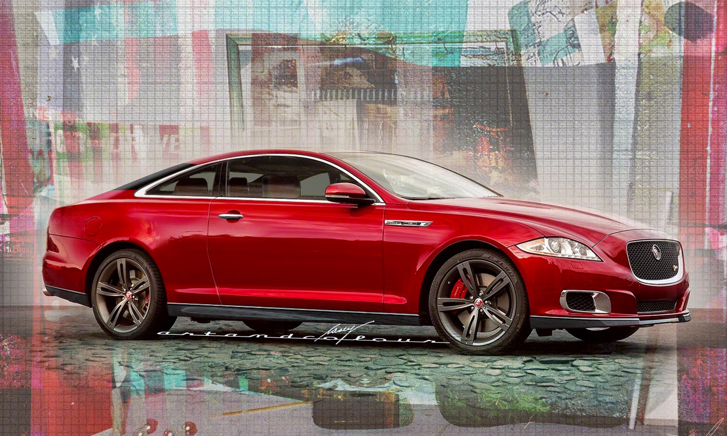 Casey/artandcolour/cars: 2015 Jaguar XJ Coupe