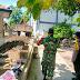 Babinsa Karangdowo Amankan Pemakaman Covid 19