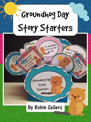 Sweet Tea Classroom: Groundhog Day Story Starters: Fun