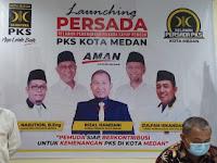 Launching Relawan Persada PKS Medan, Pemuda Siap Menangkan  Akhyar-Salman
