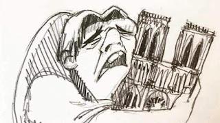 """""""Λύγισε"""" ο Κουασιμόδος - Το σκίτσο που έγινε viral"""