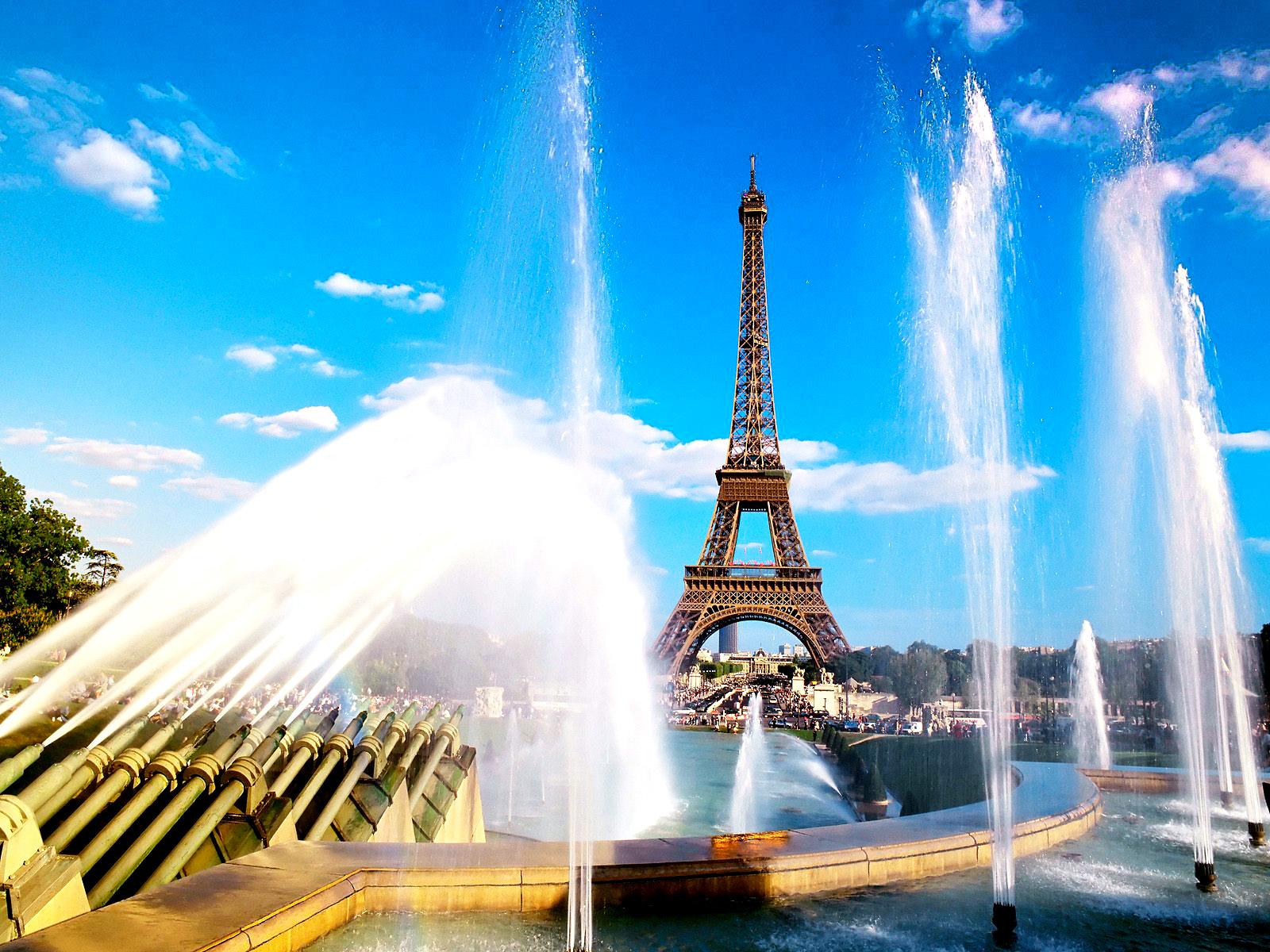 Eiffel Tower Paris City Landscapes HD Wallpapers
