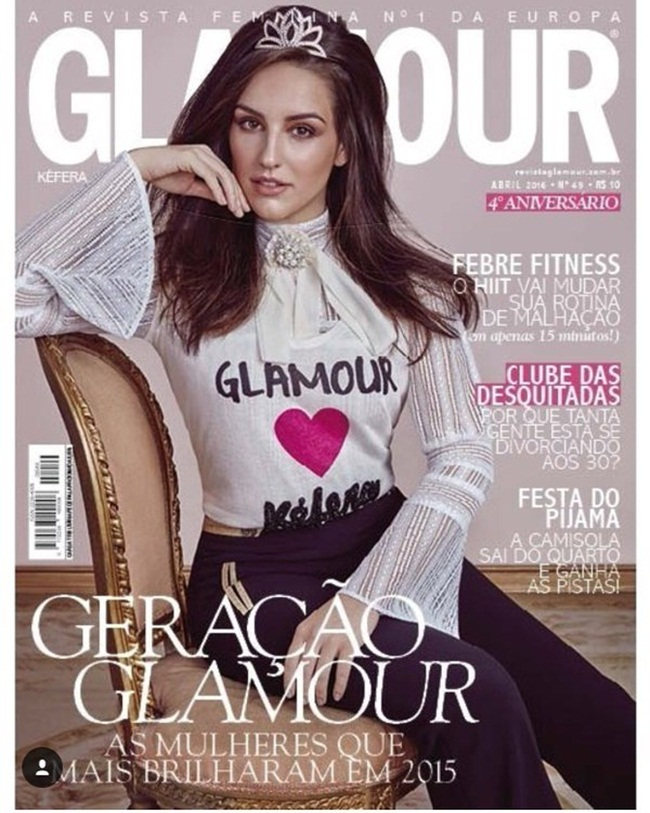 4 Covers of Glamour Brazil April 2016