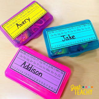 Simple Student Nameplates