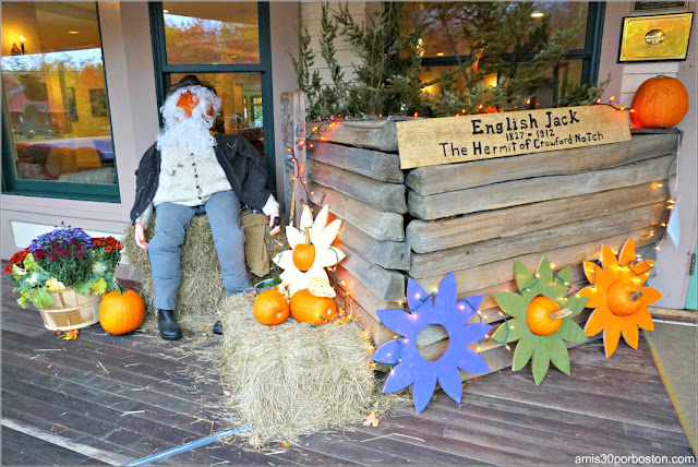 English Jack: The Hermit of Crawford Notchen el Return of the Pumpkin People de Jackson en New Hampshire