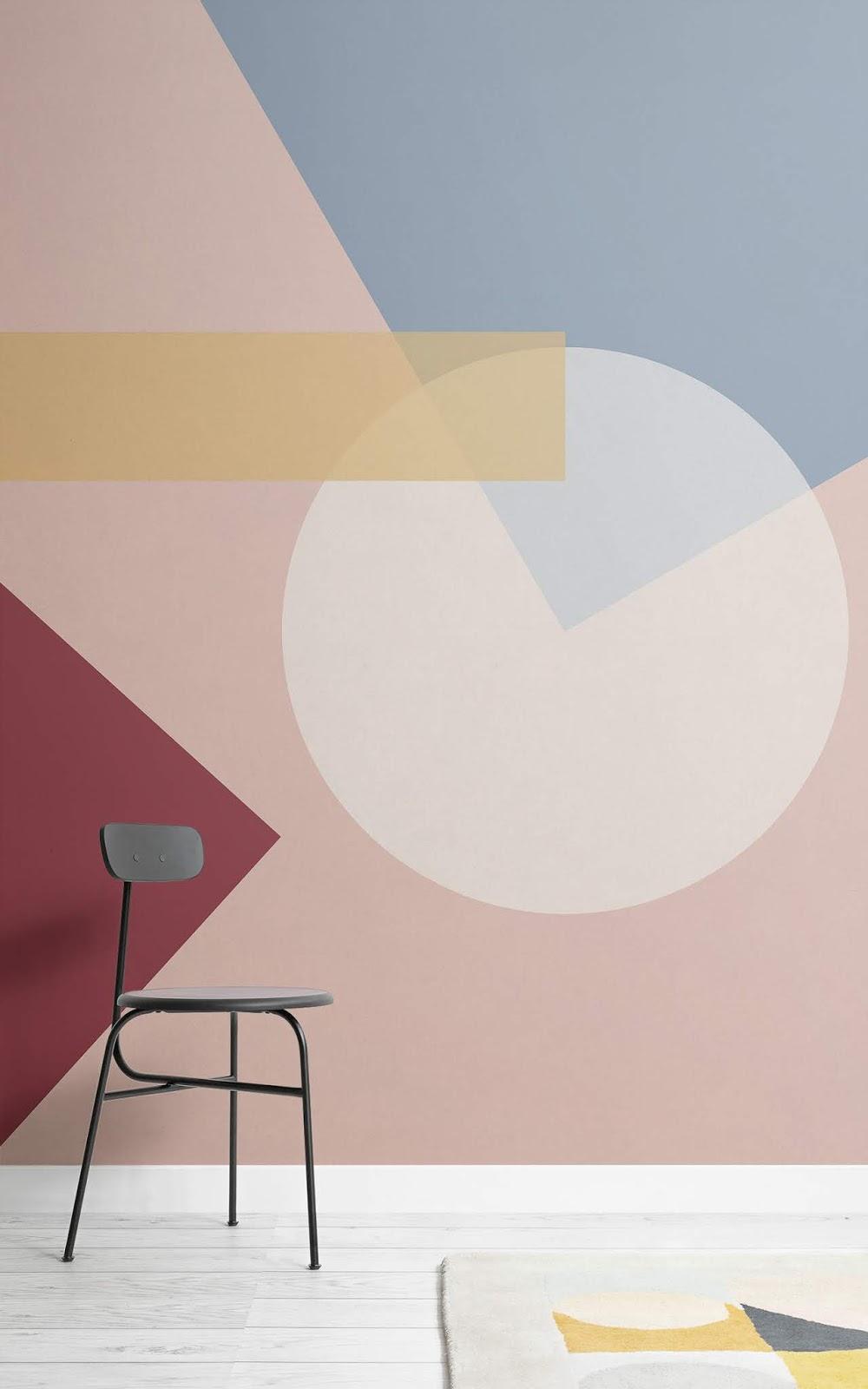 El centenario de la Bauhaus se conmemora con papeles pintados
