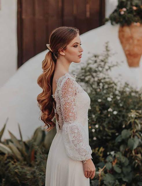 peinado para novias modernas 2020
