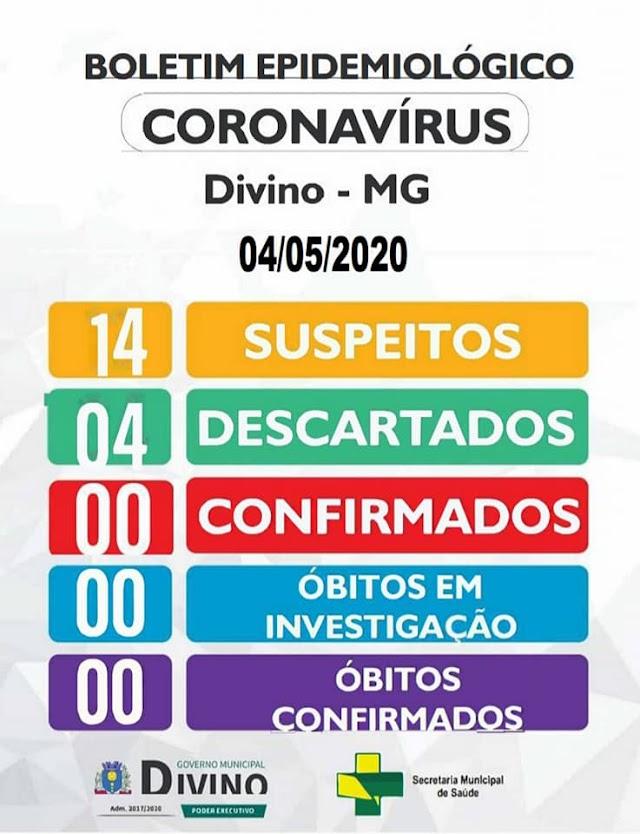 Divino possuí 14 casos suspeitos de Coronavírus;Filas e aglomerações continuam pela cidade
