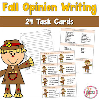 Fall Opinion Writing Pack