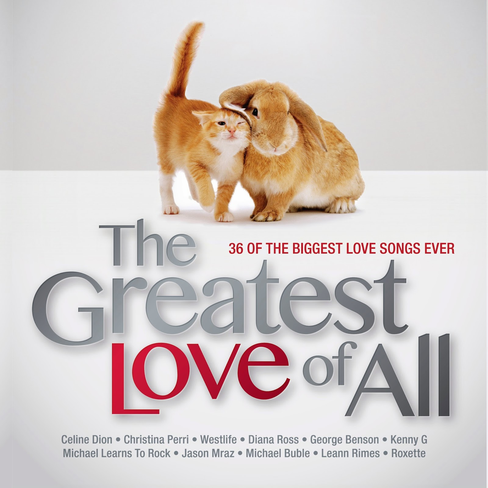 Artist: The Greatest Love of All Title: 20 Of The Biggest Love Songs Ever Release Date:  27 January 2014 Price: RM 44.90 Format:  2 CD Label: Warner
