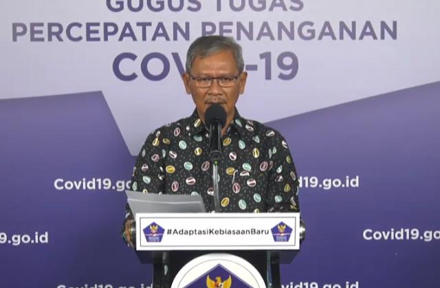Achmad Yurianto Ungkap Kasus Sembuh Covid-19 Lebih dari 27 Ribu Orang