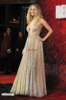 Jennifer Lawrence in a golde glittering gown at Red Sparrow Premiere in London ~  Exclusive Galleries 022.jpg