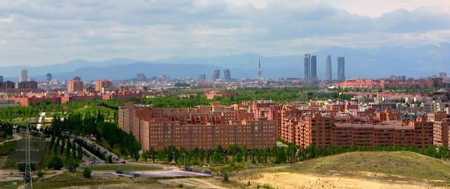 Vista hacia el Oeste Cerro Almodóvar