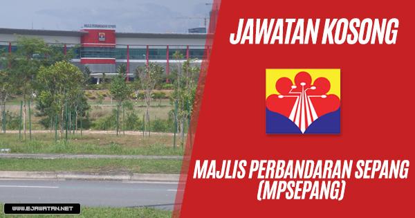 jawatan kosong Majlis Perbandaran Sepang (MPSepang) 2019 2018