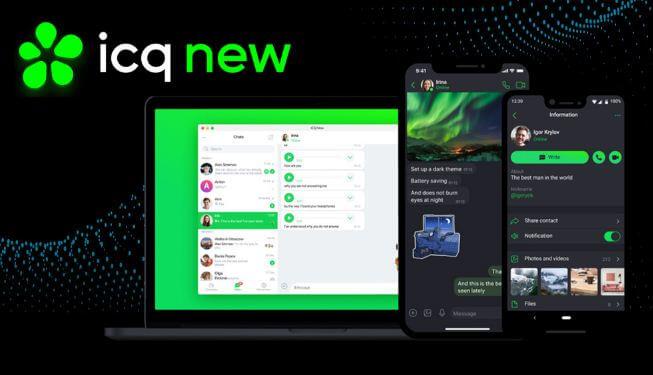 أفضل, برنامج, محادثات, ودردشة, ومكالمات, فيديو, مجانية, ICQ