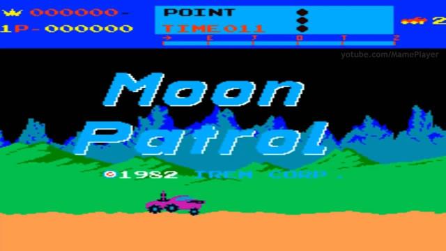 1982. Moon Patrol Arcane