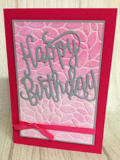 Happy Birthday  zena kennedy independent stampin up demonstrator