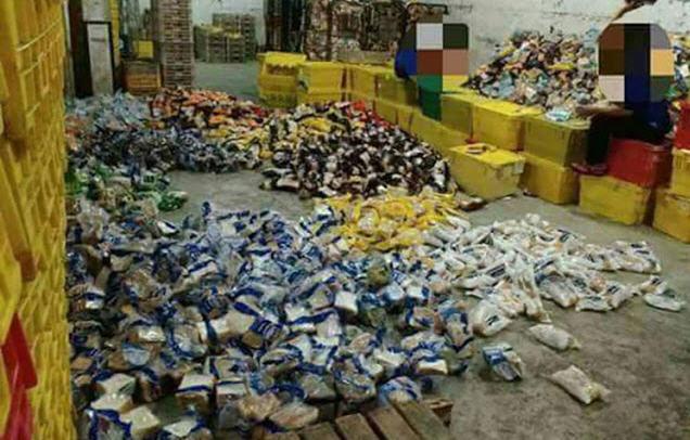 Tak Laku di Pasaran, Inilah Penampakan Sari Roti di Gudang